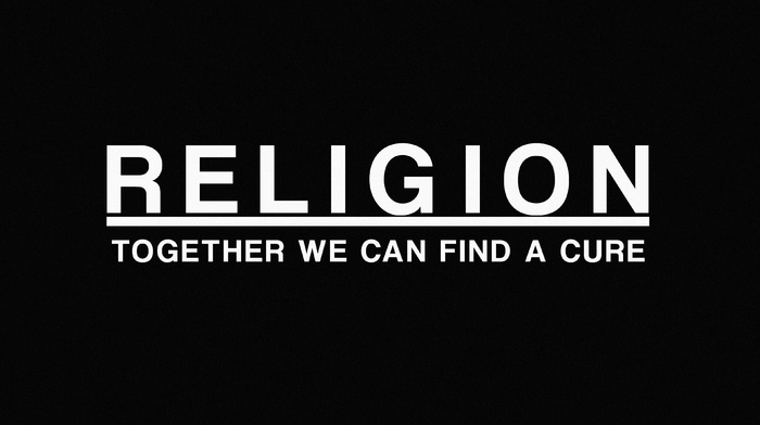 quote, atheism, dark, simple background, religions