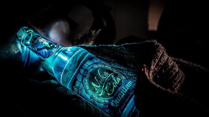 glowing, fallout 3, Fallout, Nuka Cola