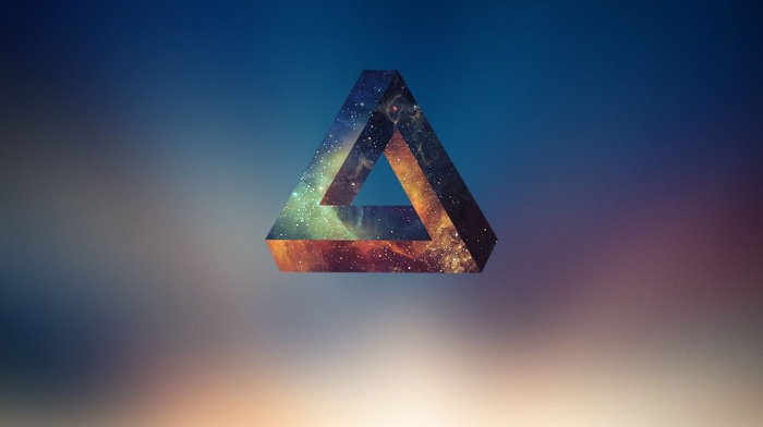 Penrose triangle, geometry, abstract