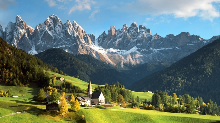 Alps, stunner, forest, mountain, beautiful, Italy, nature