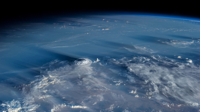 clouds, Earth, beautiful, planet, space