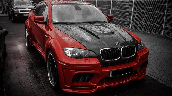 rain, parking, tuning, cars, BMW, bmw, supercars