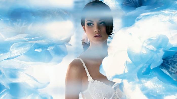 brunette, photo manipulation, girl, Jenna Pietersen