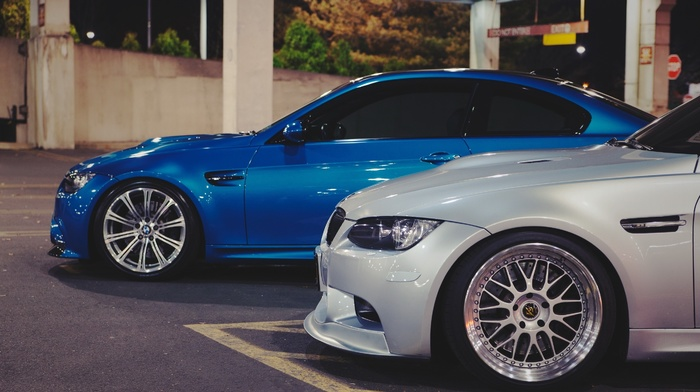 BMW, bmw, cars, supercars, photo, sportcar, blue, macro, parking, tuning
