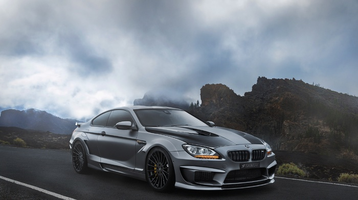 cars, tuning, rocks, BMW, cloudy, beautiful, sky, stones, supercar, bmw, road
