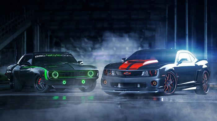 couple, sportcar, supercar, cars, tuning, Chevrolet