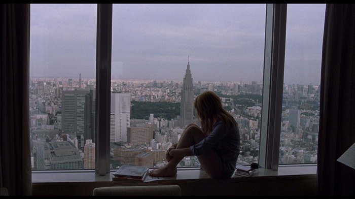 Lost in Translation, Scarlett Johansson, cityscape