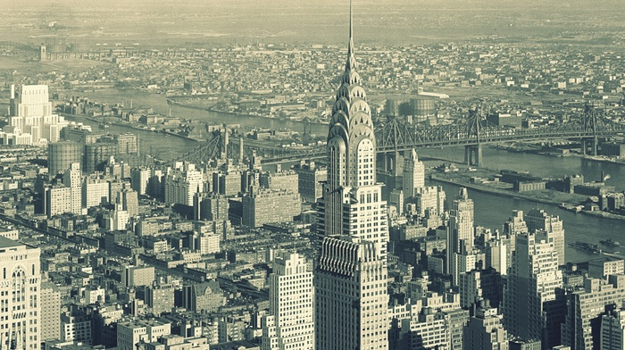 Chrysler Building, cityscape, New York City, USA
