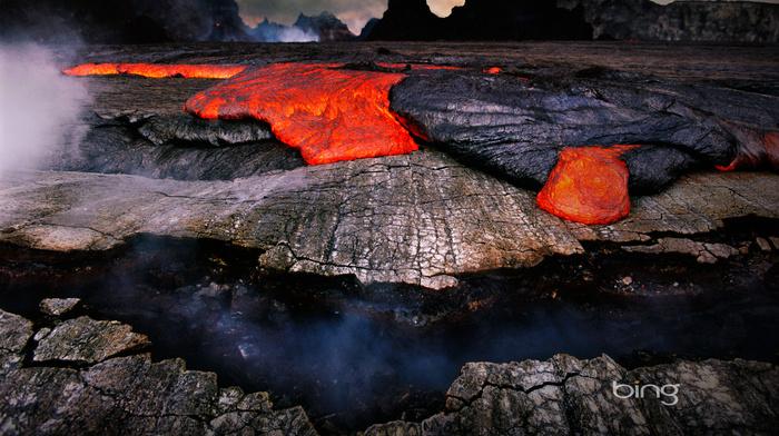 rocks, nature, mountain, photo, stunner, volcano