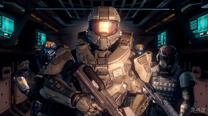video games, Halo Master Chief Collection, Halo, Master Chief, halo 4, 343 Industries, xbox one