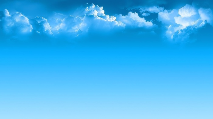 nature, azure, clouds