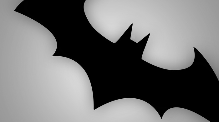 logo, simple background, Batman