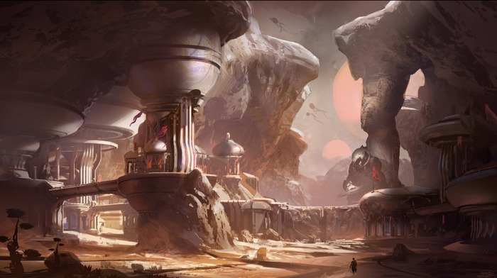 video games, Halo Master Chief Collection, Master Chief, Halo 5, Halo, concept art, xbox one