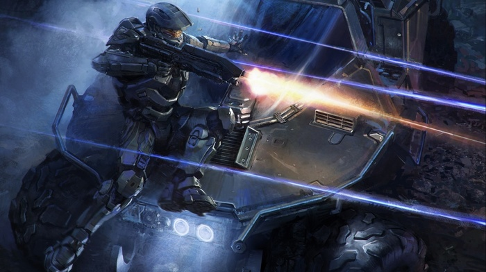video games, xbox one, Halo Master Chief Collection, halo 4, Master Chief, Halo, digital art