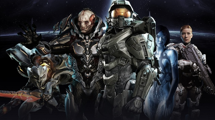 Halo, Master Chief, halo 4, Didact, video games, Halo Master Chief Collection, Cortana, xbox one