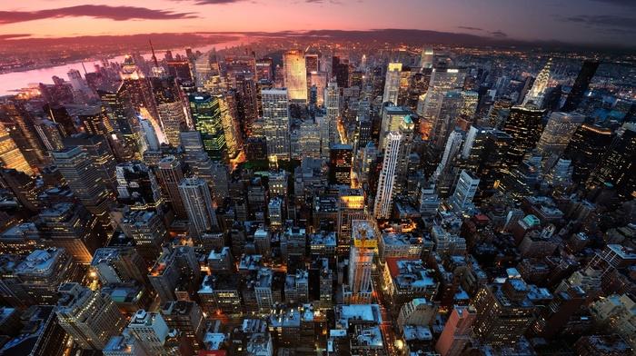 Manhattan, USA, city, cityscape, New York City