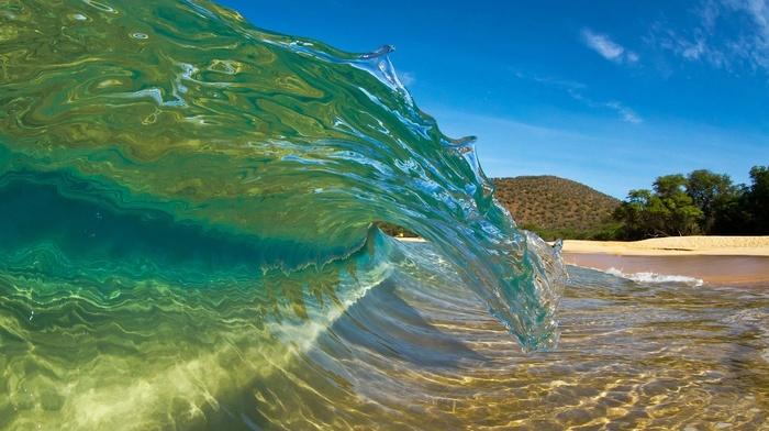 theme, beach, ocean, stunner, beautiful, summer, nature, resort, wave