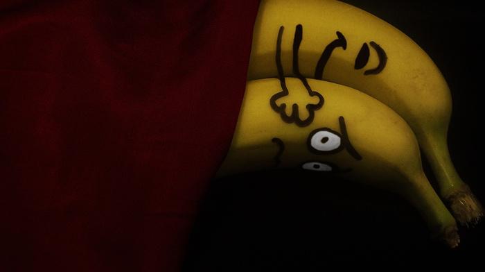 два, креатив, бананы