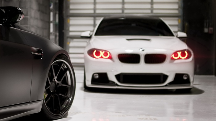 bmw, garage, supercar, macro, BMW, m3, cars, photo