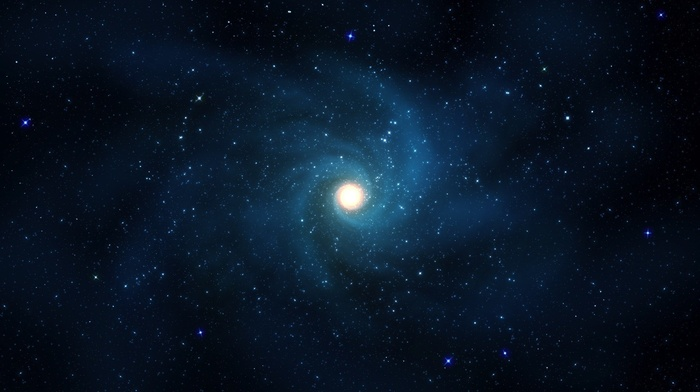 минимализм, космос, звезды