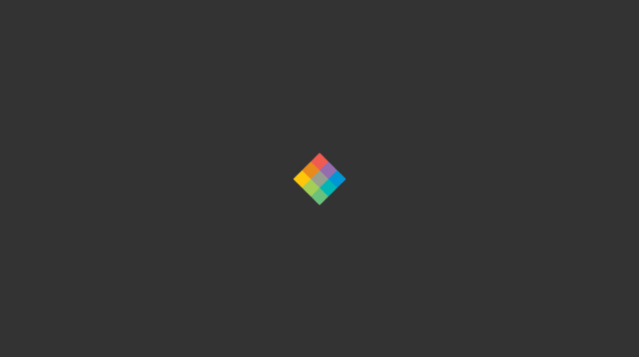 minimalism, colorful, gray, square