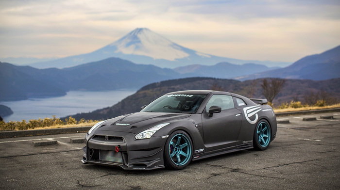 cars, Nissan GT-R, tuning