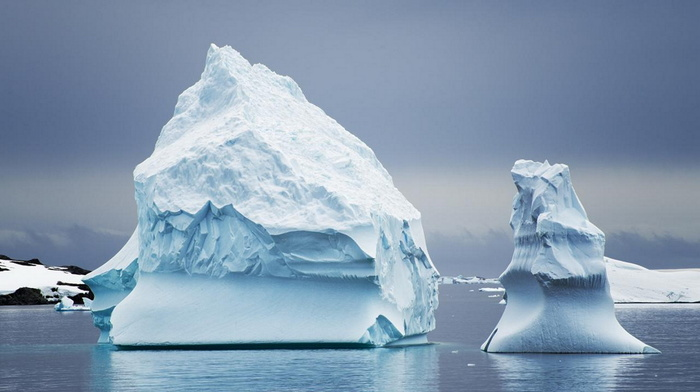 красивые, антарктида, красота, айсберг