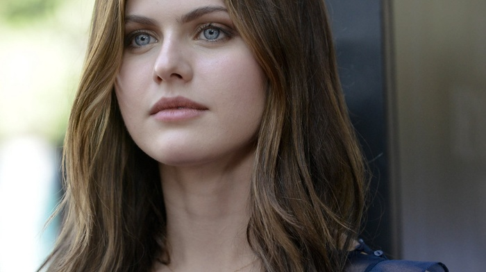 blue eyes, eyes, Alexandra Daddario, girl, brunette