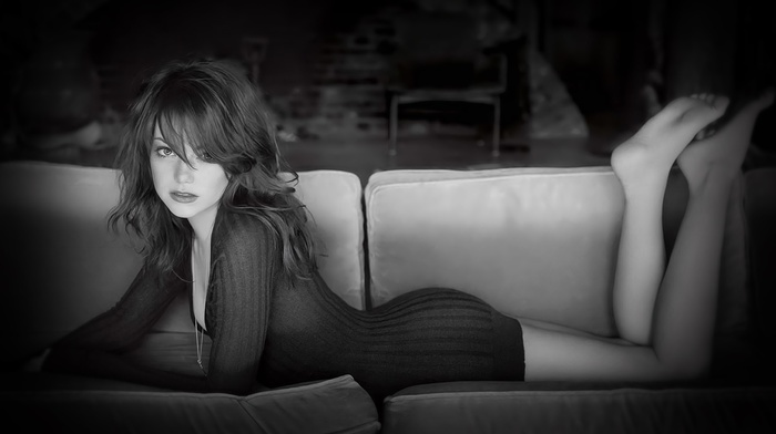 model, eyes, legs, girl, Emma Stone