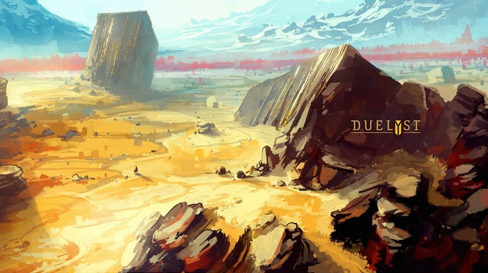Duelyst, fantasy art, video games, concept art, digital art, artwork, Digital 2D