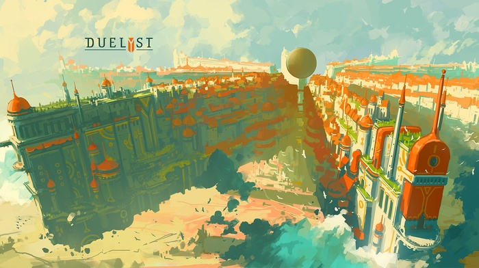 video games, Anton Fadeev, Duelyst, artwork, Digital 2D, concept art, digital art