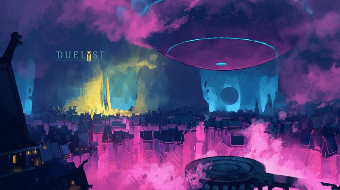 video games, artwork, Digital 2D, Duelyst, Anton Fadeev, digital art, concept art