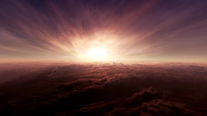 fire, sky