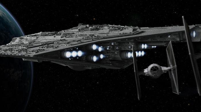 космический корабль, Звездные войны