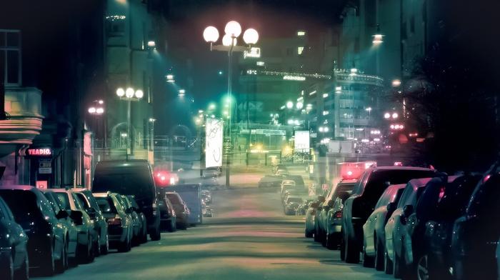 street, cityscape, car