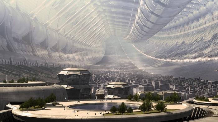 Elysium, space, fantasy art