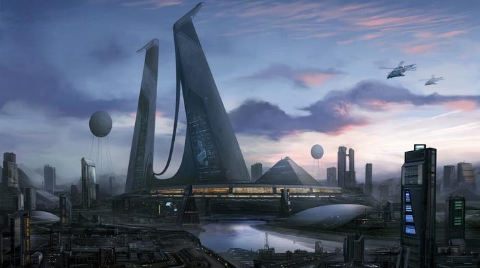 space, futuristic