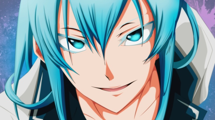blue hair, Esdeath, blue eyes, Akame ga Kill