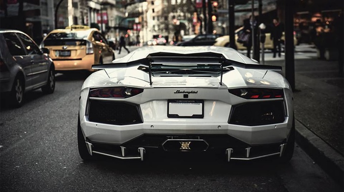 Lamborghini, car, Speedhunters, sports car, street