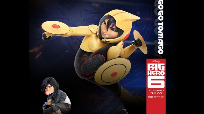 Disney, Walt Disney, Go Go Tomago, animated movies, Big Hero 6, movies