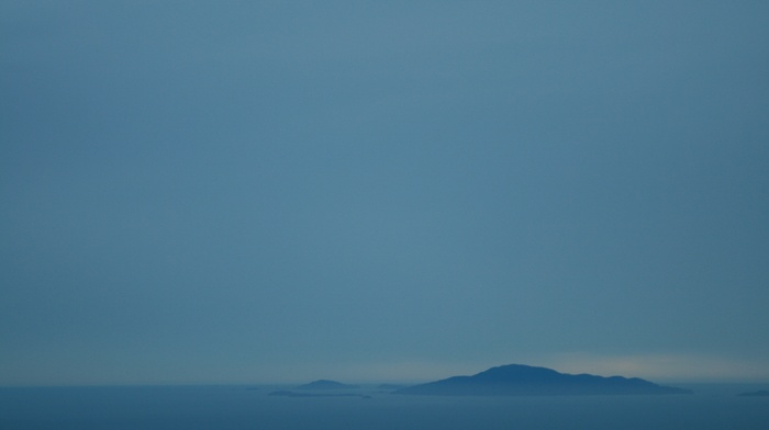 mist, Langkawi, sea, Malaysia, island, blue