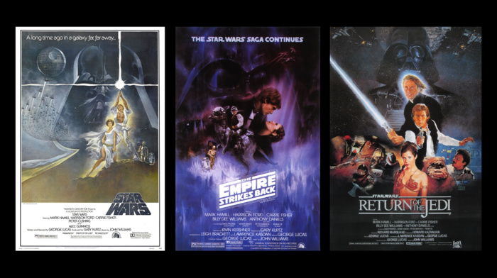 star wars episode v, the empire strikes back, Star Wars, Star Wars Episode VI, The Return of the Jedi, Trilogy