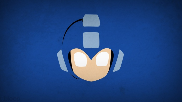 Mega Man, minimalism, Blo0p