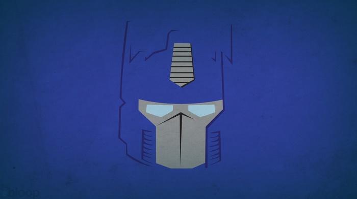 minimalism, Optimus Prime, Blo0p