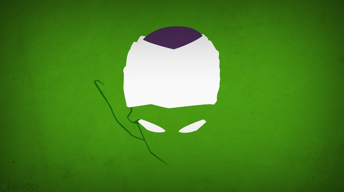 Blo0p, Piccolo, minimalism, Dragon Ball