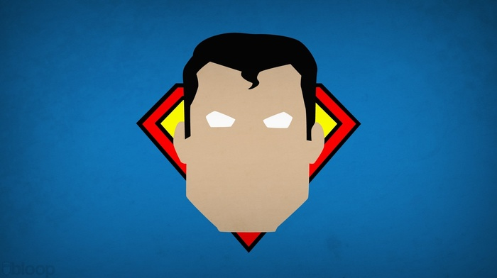минимализм, супермен, супергерой