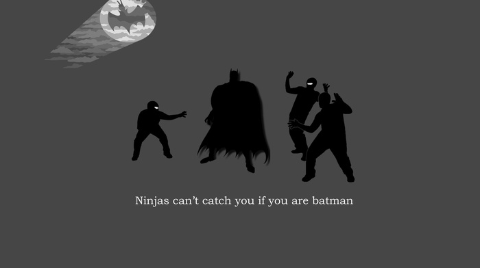 Batman, ninjas