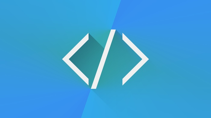 simplicity, HTML, programming, code, blue
