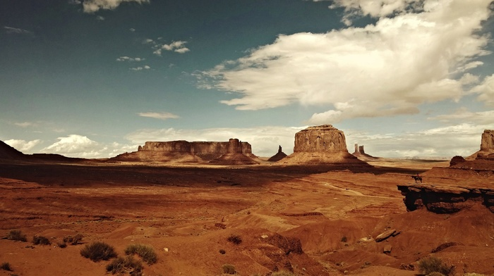 desert, rock formation, Monument Valley, landscape, USA