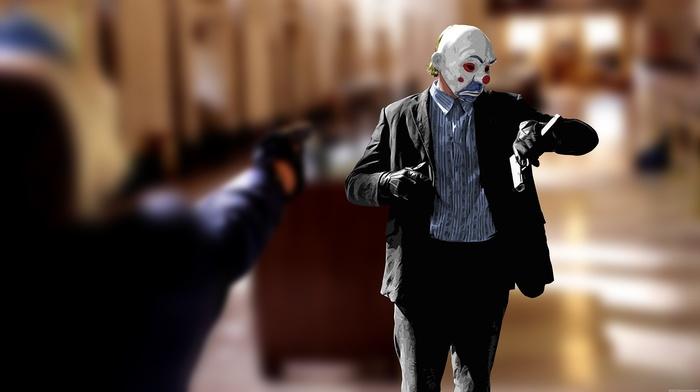 clowns, The Dark Knight, Batman, MessenjahMatt